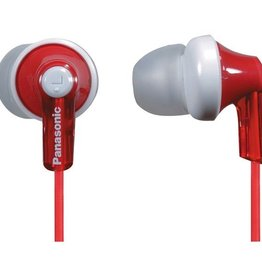 Panasonic PANASONIC RP-HJE120-R HJE120 Earbuds (Red)