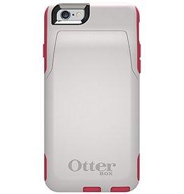 Otter Box Otter Box Commuter Wallet White/Pink - iPhone 6