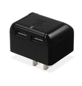 Scosche Strikebase Pro Dual USB Micro/Lightning Wall Charger