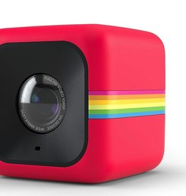 Polaroid Polaroid Cube Mini Lifestyle Action Camera (Red)