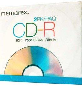 Memorex Memorex 2pk CD-R