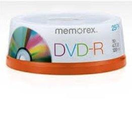 Memorex Memorex DVD-R 25pk 16X