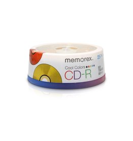 Memorex Memorex CD-R 25pk 52X