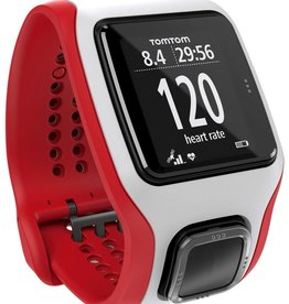 TomTom TomTom Multi-Sport GPS Watch/Heart Rate Monitor - Red