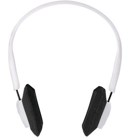 Outdoor Tech Outdoor Tech DJ Slims Rugged Wireless Headphones White