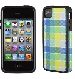 Speck Speck FabShell for iPhone 4/4s - Checkered