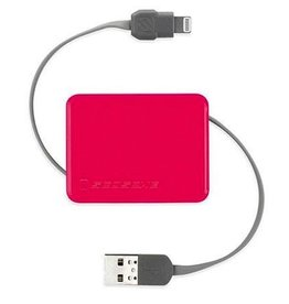 Scosche Schosche BoltBox Retractable Charge & Sync Cable Pink