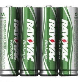Rayovac Rayovac Ready-to-Use Rechargeable Batteries AA 4Pk