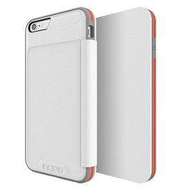 Incipio Incipio iPhone 6 Plus/6s Plus Performance Series Level 3 Folio -White/Orange
