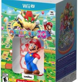 Nintendo Wii U Mario Party 10 + MArio amiibo Bundle