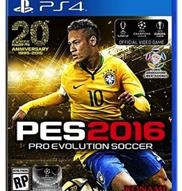 Sony PS4: PES 2016 - Pro Evolution Soccer