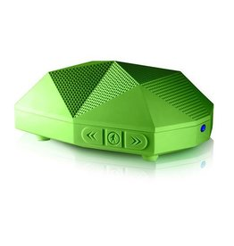 Outdoor Tech OUTDOOR TECH OT1800-G Turtle Shell(R) 2.0 Rugged Bluetooth(R) Portable Speaker with NFC (Green)