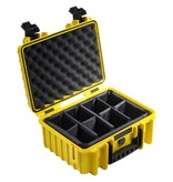 B&W International Type 1000 GoPro Case Yellow
