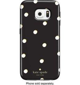 Kate Spade New York Kate Spade Hybrid Hardshell Case for Samsung Galaxy S6- Scatter Pavillion Navy/Cream/Gold