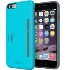 Incipio Incipio Stowaway iPhone 5/5S Case Grey-Blue