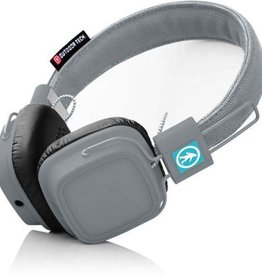 Outdoor Tech OUTDOOR TECH OT1400-GR Privates Touch Control Bluetooth(R) Headphones with Microphone (Gray)