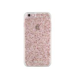 Kate Spade New York Kate Spade Clear Glitter Case iPhone 6/6S Plus - Rose Gold Glitter