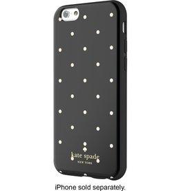 Kate Spade New York Kate Spade Hybrid Hardshell Case for iPhone 6- Larabee Dot Black/Cream
