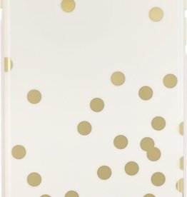 Kate Spade New York Kate Spade Hybrid Hardshell Case for iPhone 6- Confetti Gold/Cream