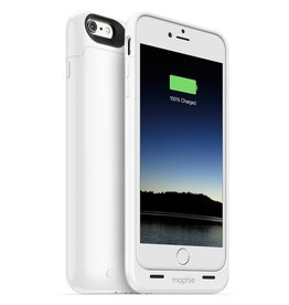 Mophie Mophie Juice Pack White Rechargeable External Battery case for iPhone 6 Plus