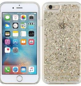 Kate Spade New York Kate Spade Clear Glitter Case iPhone 6/6S - Gold Glitter