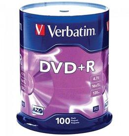 Verbatim VERBATIM 95098 4.7GB DVD+Rs (100-ct Spindle)