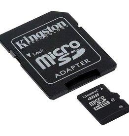 Kingston Kingston 4GB Micro SDHC 10 Flash