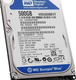 Western Digital WD 500GB 2.5 SATA Drive Blue