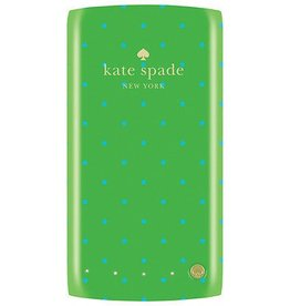 Kate Spade New York Kate Spade Backup Battery - 400mAH- Bikini Dot Shamrock/Firoza