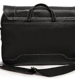Mobile Edge MOBILE EDGE MEUTSMB5 13 & 14.1 Tablet & Notebook Slimline Messenger ( Black with White Stitching)