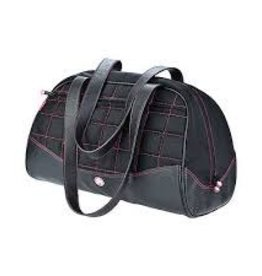 Sumo Sumo Duffel - Black with Pink Stitching - Large