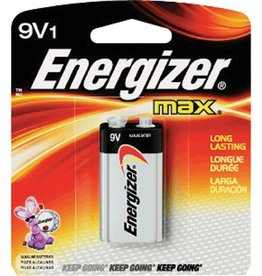 Energizer ENERGIZER 522BP Long-Life Alkaline Batteries (9V; Single)