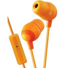 JVC JVC Marshmallow Earbuds w/ Mic - Orange