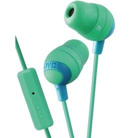 JVC JVC Marshmallow Earbuds w/ Mic - Green