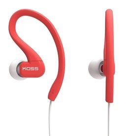 Koss Koss Sport Clip Earbuds - Coral