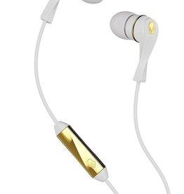 Skullcandy Skullcandy Wink'd Earbuds w/ Mic - White/Gold