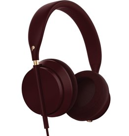 Plugged Plugged Crown Series Headphones - Bordeaux/Rose