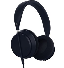 Plugged Plugged Crown Series Headphones - Denim/Silver