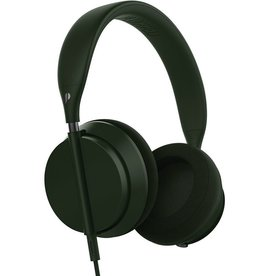 Plugged Plugged Crown Series Headphones - Olive/Gunmetal