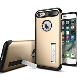 Spigen Spigen Slim Armor Case for iPhone 7 - Gold