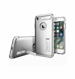 Spigen Spigen Slim Armor iPhone 7 Case - Silver