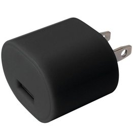 IE Essentials Iessentials 1A USB Wall Charger - Black