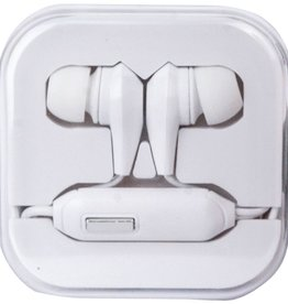 Travelocity Travelocity Earbuds w/ Mic - White