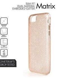 Skech Sketch Matrix Case for iPhone 7 - Rose Sparkle