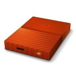 Western Digital Western Digital My Passport 2 USB 3.0 2TB External Hard Drive - Orange