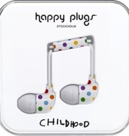 HappyPlugs Happy Plugs In-Ear Earbuds - Polkadot