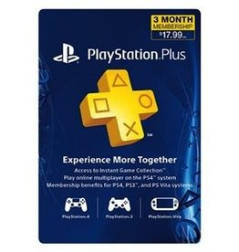 Sony Playstation Plus 12 Month 2017