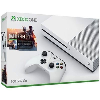 Microsoft XBox One S - Battlefield 1 500GB