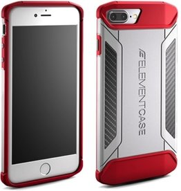 Element Case Element Case CFX Case for iPhone 7 Plus - White/Red