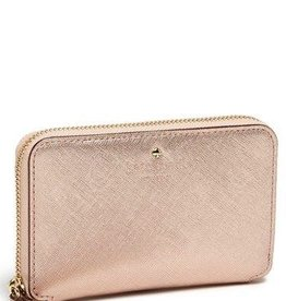 Kate Spade New York Kate Spade Zip Wristlet (Fits most Mobile Phones) - Rose Gold